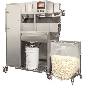 Vortex Popcorn machine, 28kg, double feeder, flavorer (EU+US)