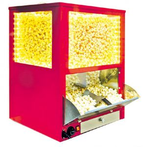 Bulk Popcorn Display Warmer, with autofeeding