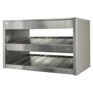 Popcorn Floor Display Warmer (TO FIT ON), open, 2 shelves, L0.70м.