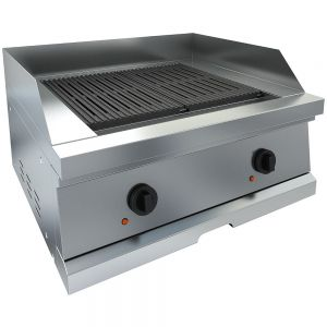 Char Broiler with two cooking zones, counter top version