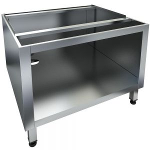 Base for the CHB-2T Char broilers is made completely of stainless steel