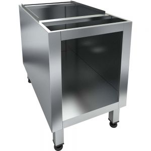 Base for the CHB-1T Char broiler is made completely of stainless steel