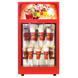 Kono Pizza Display Warmer with humidification is suitable for short-term storage