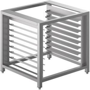 Подставка под печи конвекционные ALFA241, 900х850х900мм, без столешницы, открытая, направляющие для 16х(600х400мм) или 16GN1/1