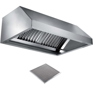 Вентиляционное оборудование зонты пристенные вытяжные Metaltecnica C 1090280+6хFR/C