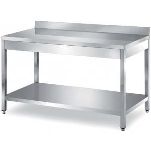 Столы производственные с бортом, разборный каркас Metaltecnica TCR1/12 A