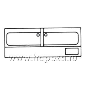 Нейтральное оборудование ванны моечные Metaltecnica TLV2/16