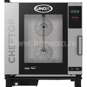 Тепловое оборудование для приготовления пароконвектоматы Unox XEVC-0711-E1R