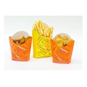 Упаковка для наггетсов, картофеля фри Паперскоп Рус 000003