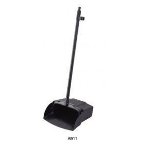 Совок L 32,3см w 13,9см h 95,8см для мусора с крючком, пластик черный