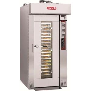 Оборудование для производства мучных изделий ротационные печи Zanolli ROTOR WIND 4E L+Stainless steel rack 4: 18х(500х70
