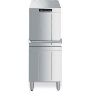 Машина посудомоечная купольная, 500х500мм, 60/30/20кор/ч, доз.опол./моющ., 3 цикла, электр.упр.