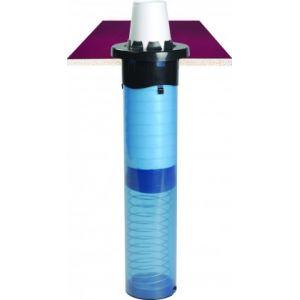 Диспенсер для стаканов 236-1301мл, D79/114мм, встраиваемый, вертикальный/горизонтальный, пластик