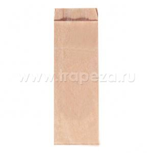 Пакет 610х110х50мм плоское дно бумага крафт