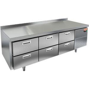 Стол холодильный низкий HICOLD GN 222/TN LT