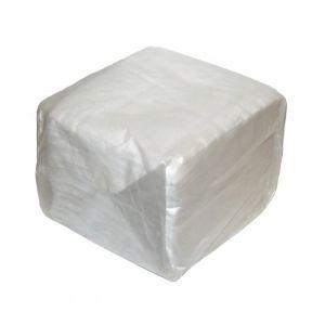 Салфетки 24X24Cм бумага белые