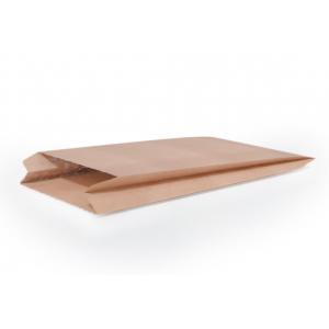 Пакет бумажный 250х140х60мм плоское дно крафт