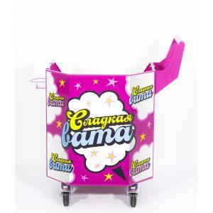 Тележка для аппарата сахарной ваты ТТМ ТАСВ-052