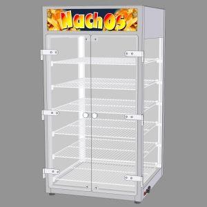 Vtn-490-2 - витрина c подогревом для nachos (б/у (бывший в употреблении)) ТТМ VTN-490-2