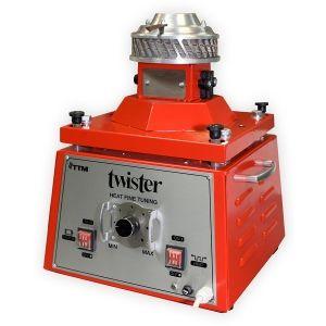 Аппарат сахарной ваты, горизонтальная подача, 3kg/h., пласт. ловитель, тэн, цвет корпуса красный (некондиция) ТТМ TWISTER-M