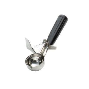 Ложка для мороженого #30 35мл с черной ручкой TABLECRAFT 2130