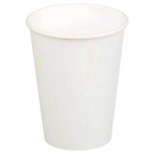 Стакан бумажный для горячих напитков 300мл белый