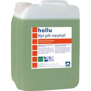 Средство моющее для ручного мытья посуды и любых рабочих поверхностей Nyl pH-neutral HOLLU 5л.