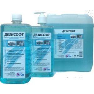 Мыло жидкое с дезинфицирующим эффектом ДЕЗИСОФТ 5л.