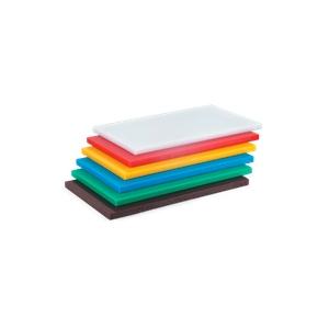 Доска разделочная L 60см w 40см h 2см, пластик красный