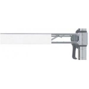 Маркер полок для стеллажей Metromax, Super Erecta Pro и Super Erecta, пластик белый