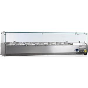Витрины холодильные настольные Tefcold VK38-160-I