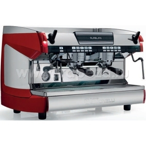 Кофемашина-автомат, 2 группы (выс.), бойлер 14л, красная, 220V, LED