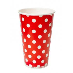 Стакан бумажный для холодных напитков LOLLIPOP 400мл