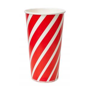 Стакан бумажный для холодных напитков LOLLIPOP 500мл