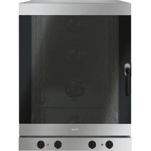 Печь электрическая конвекционная, 10х(600х400мм) или 10GN1/1, электромех.управление, пароувлажнение, дверь левая