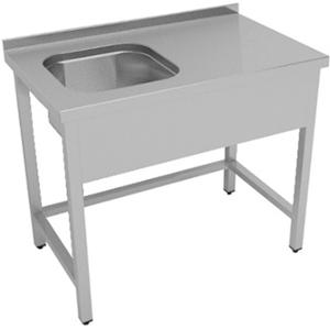 Ванна моечная ENIGMA RUS Е-ВМ1-107/45Л/S/430