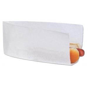 Уголок для хот-дога 225х120мм бумага белый