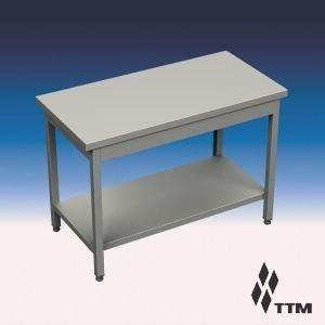 Sr-180/7p - стол рабочий усиленный, без борта, полка (уценённое) ТТМ SR-180/7P