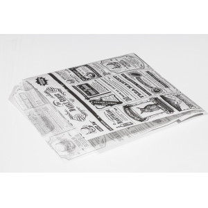 Упаковка для фаст фуда Альянс-3 Уголок для гамбургера MN 170х140