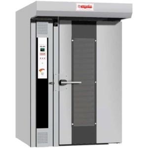 Печь электрическая конвекционно-ротационная, 1 тележка 20/10х(600х800мм), электронная панель управления, теплорекуператор, корпус нерж.сталь, увлажнен