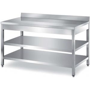 Столы производственные борт, разборный каркас Metaltecnica TCR2/15 A