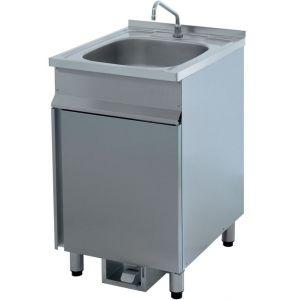 Ванны моечные цельнотянутые мойки, разборный каркас (труба) Атеси ВРН-600 (с/п)