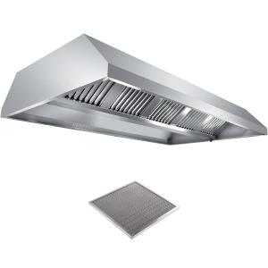 Вентиляционное оборудование зонты островные вытяжные Metaltecnica C 1180180+6xFR/D