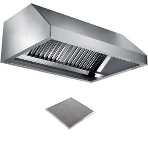 Вентиляционное оборудование зонты пристенные вытяжные Metaltecnica E 1110140+2xFR/D