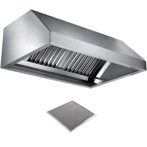 Вентиляционное оборудование зонты пристенные вытяжные Metaltecnica C 1110500+8xFR/D