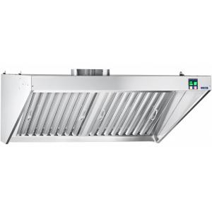Вентиляционное оборудование зонты пристенные вытяжные Чувашторгтехника ЗВЭ-800-2-П