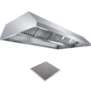 Вентиляционное оборудование зонты островные вытяжные Metaltecnica C 1220300+10xFR/E