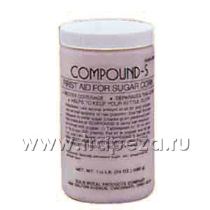 Антипригарная добавка «compound-s», сладкая, 0.68кг. Gold Medal Products 2320MC