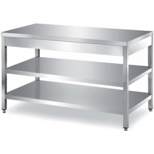Столы производственные без борта, разборный каркас Metaltecnica TCR2/12