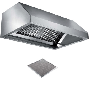 Вентиляционное оборудование зонты пристенные вытяжные Metaltecnica E 1090220+4xFR/C